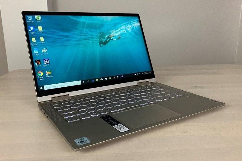Lenovo Yoga C740: hiệu năng mạnh mẽ, độ sáng cao, tốc độ nhanh, giá hợp lí